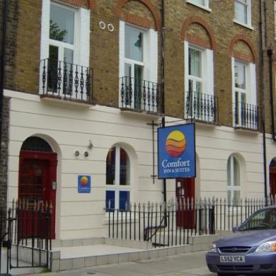 Comfort Inn & Suites Kings Cross St Pancras