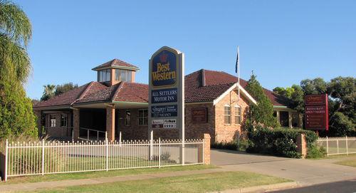 Exterior - Best Western Plus All Settlers Motor Inn