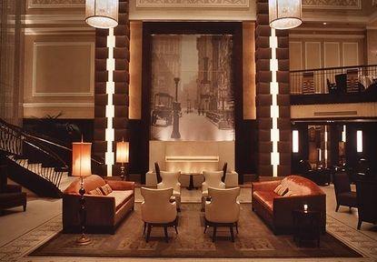 Lobby - Carlton Hotel, Autograph Collection