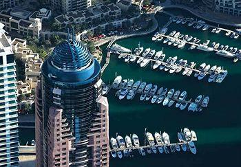 Exterior - Dubai Marriott Harbour Hotel & Suites